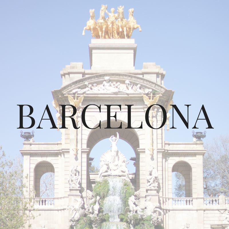 Barcelona travel blogger recommendations