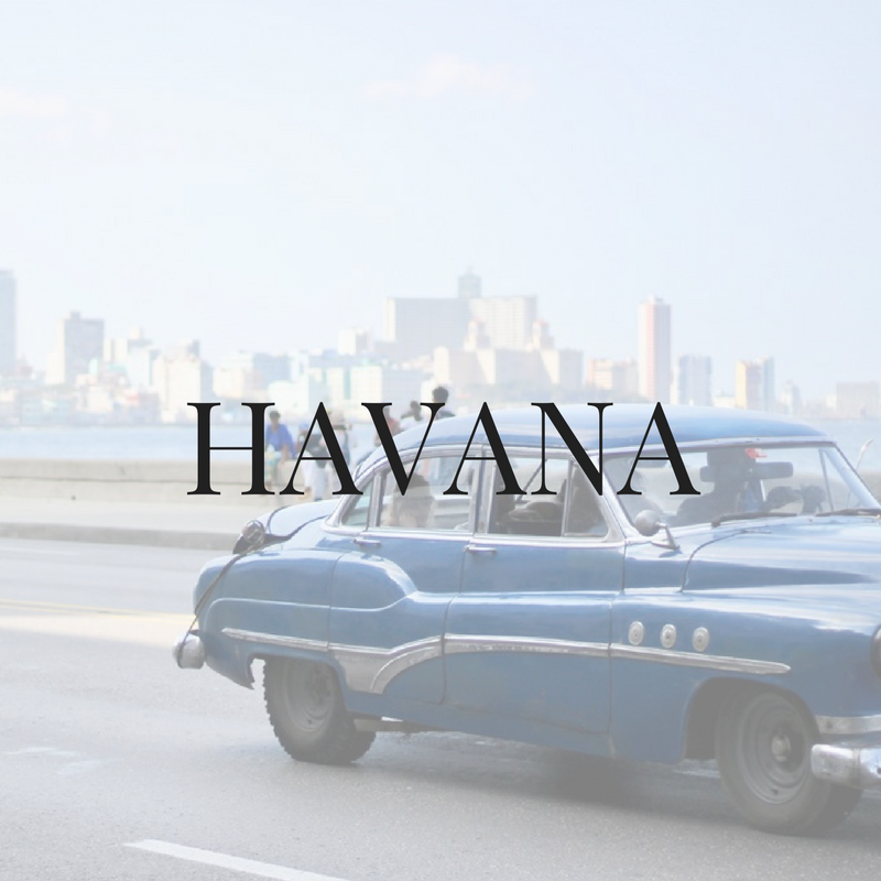 Havana American travel blogger recommendations