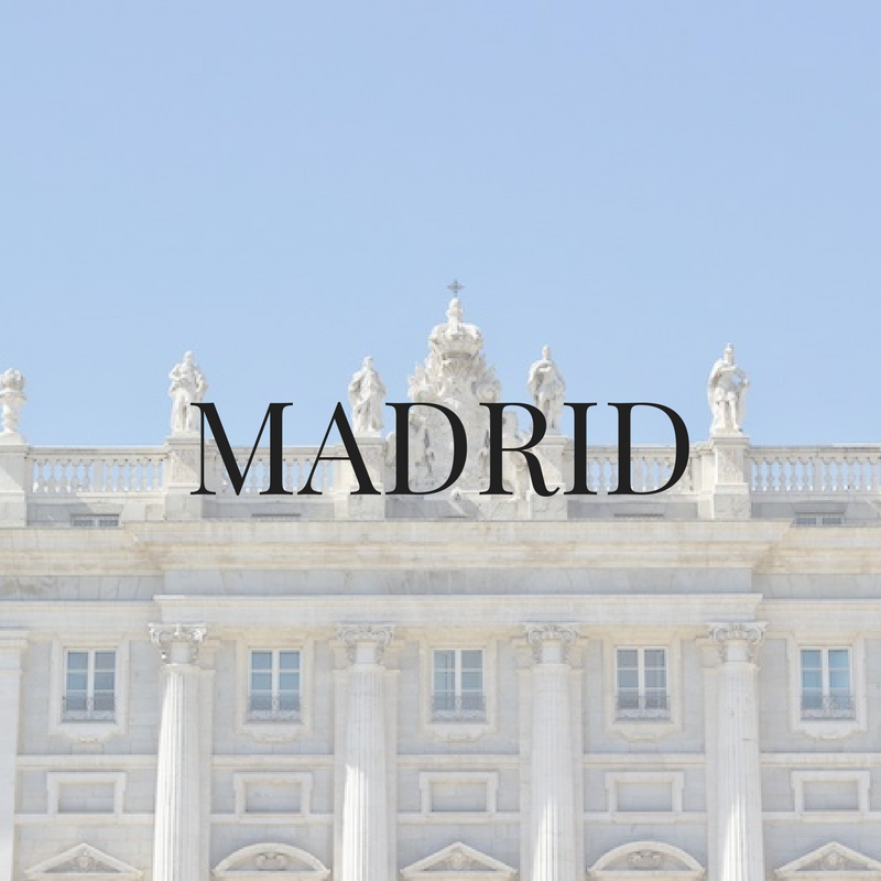 Madrid, Spain - American travel blogger recommendations