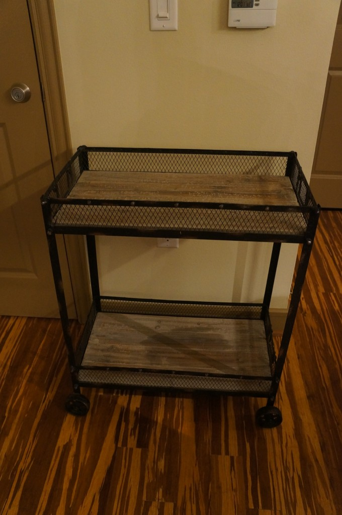 DIY bar cart 2