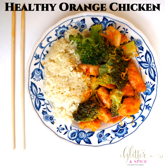 Healthy Orange Chicken