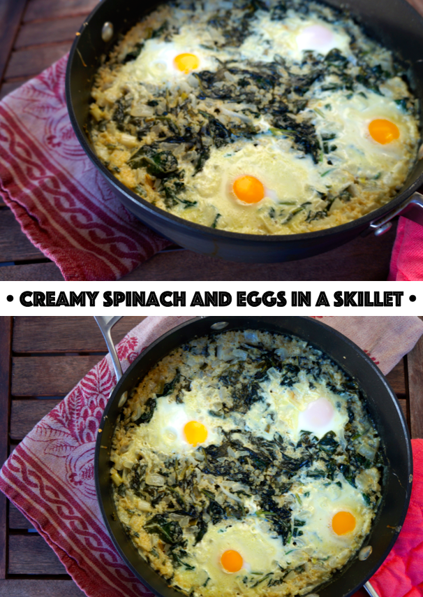 Creamy Spinach Dish