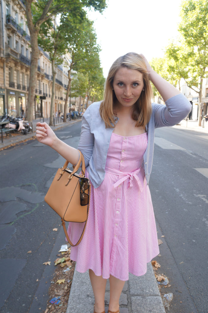 Pink Dress in St Germaine 1