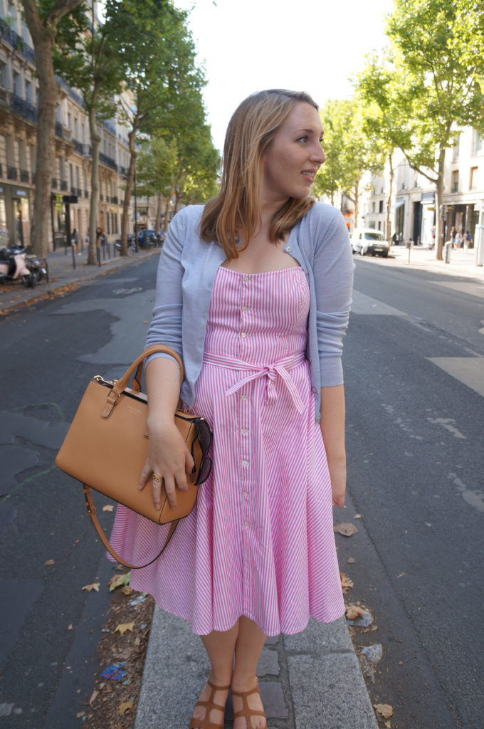 Pink Dress in St Germaine 2