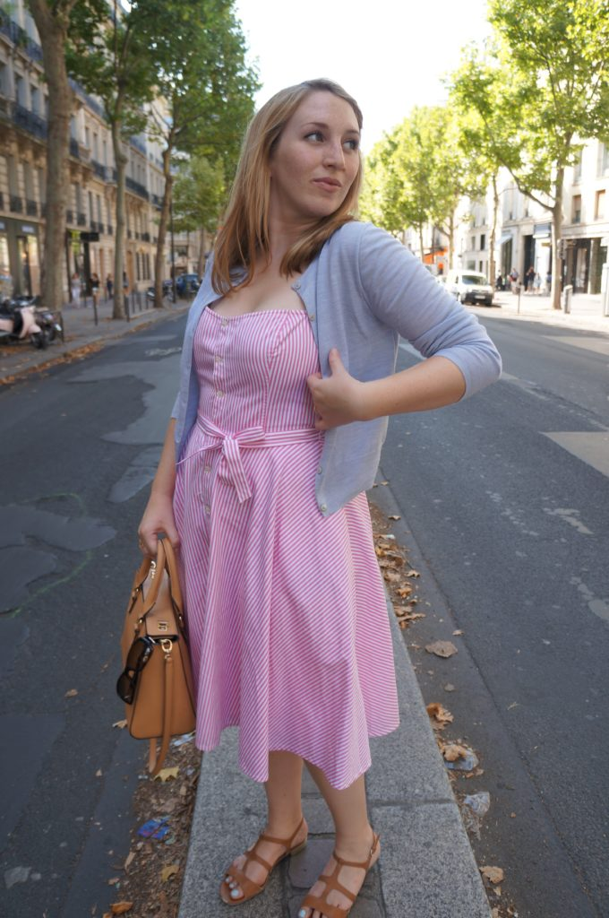 Pink Dress in St Germaine 4