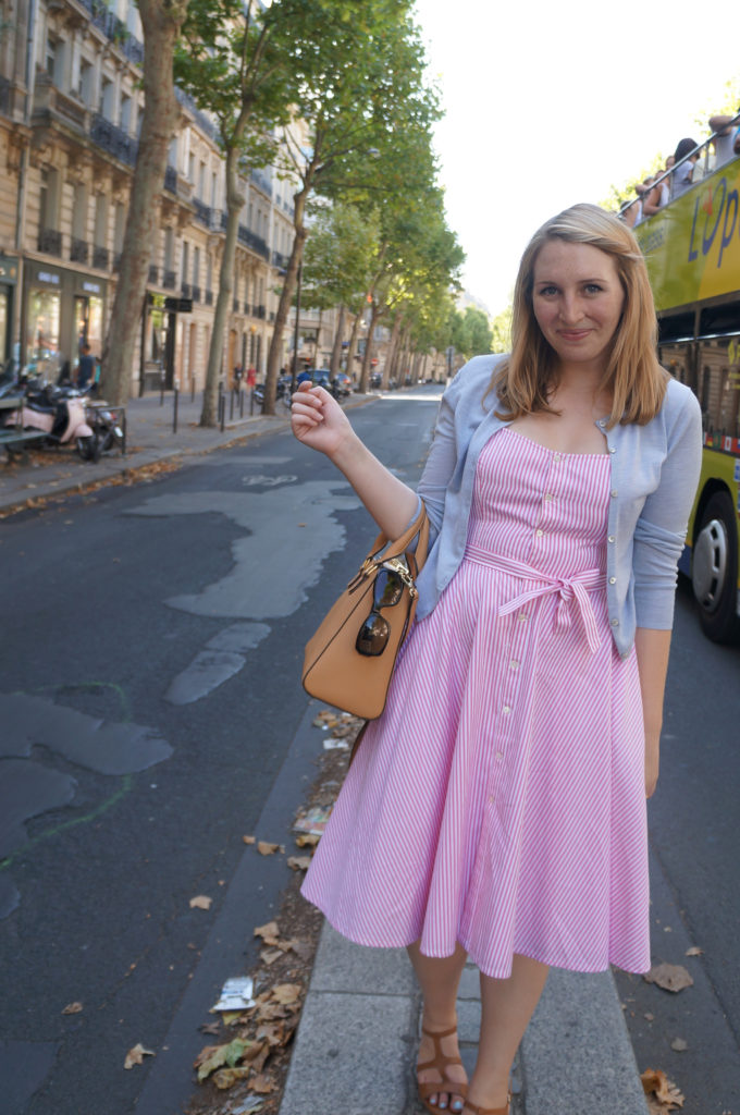 Pink Dress in St Germaine 5