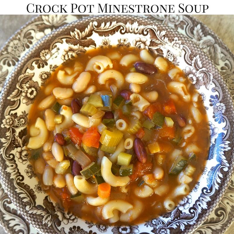 Crock Pot Minestrone Soup (1)