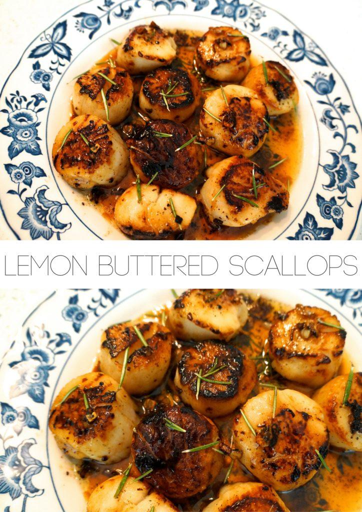 Lemon Buttered Scallops