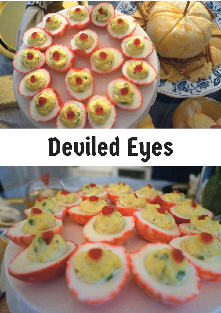 Deviled Eyes