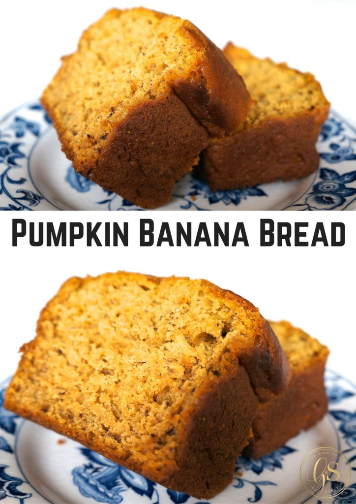 ... whatever. Pumpkin Banana Bread. It's getting really real, y'all