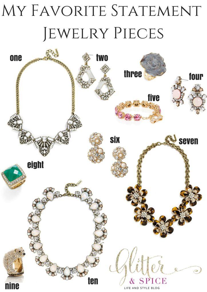 My Favorite Statement Jewelry Pieces