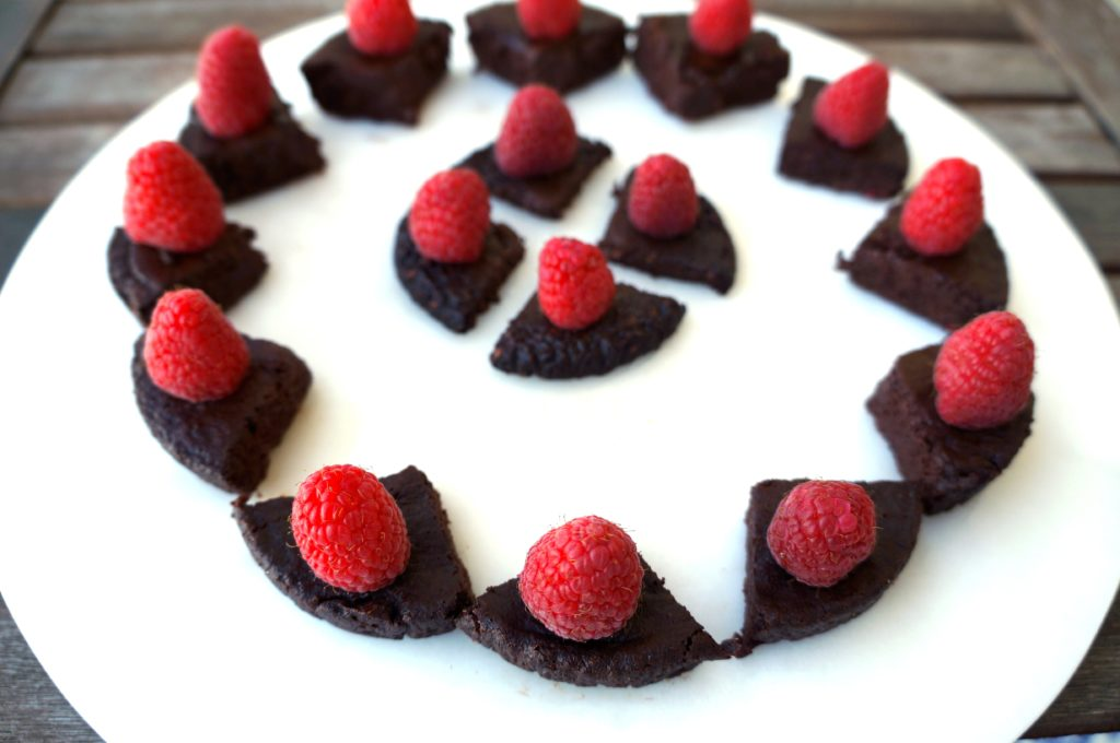 Chocolate Raspberry Soufflé Bites image