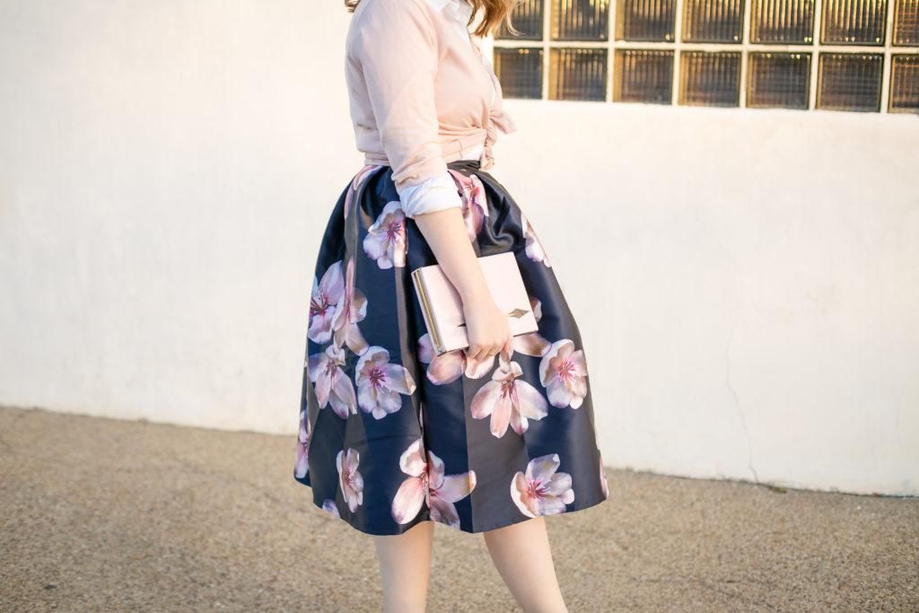 Floral Midi Skirt 2