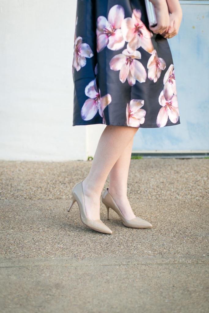 Floral Midi Skirt 6