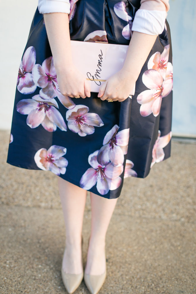 Floral Midi Skirt 7
