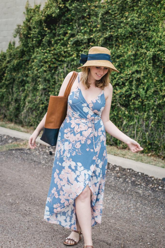 Floral Wrap Dress 2