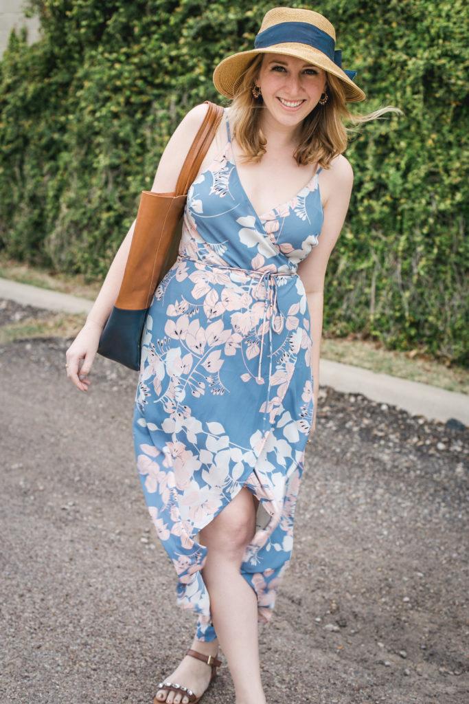 Floral Wrap Dress 9
