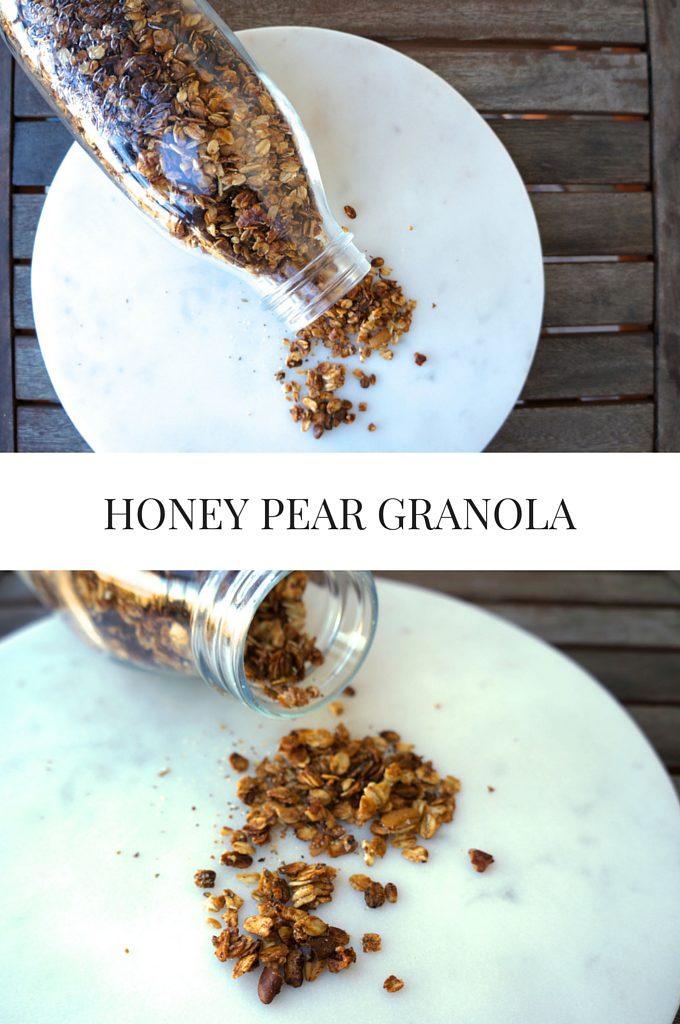 Honey Pear Granola Image