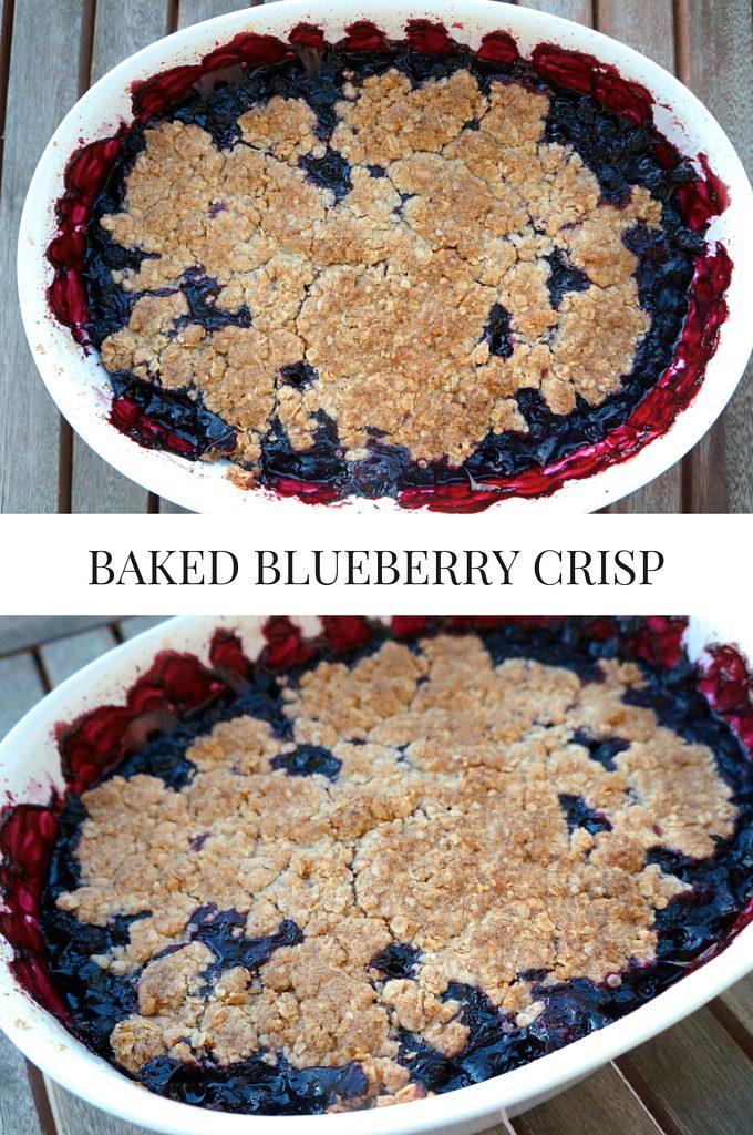 Baked Blueberry Crisp Image