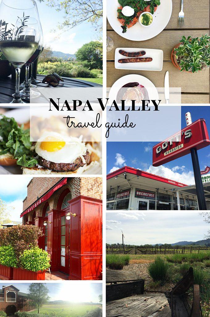 Guide to Napa Valley, California