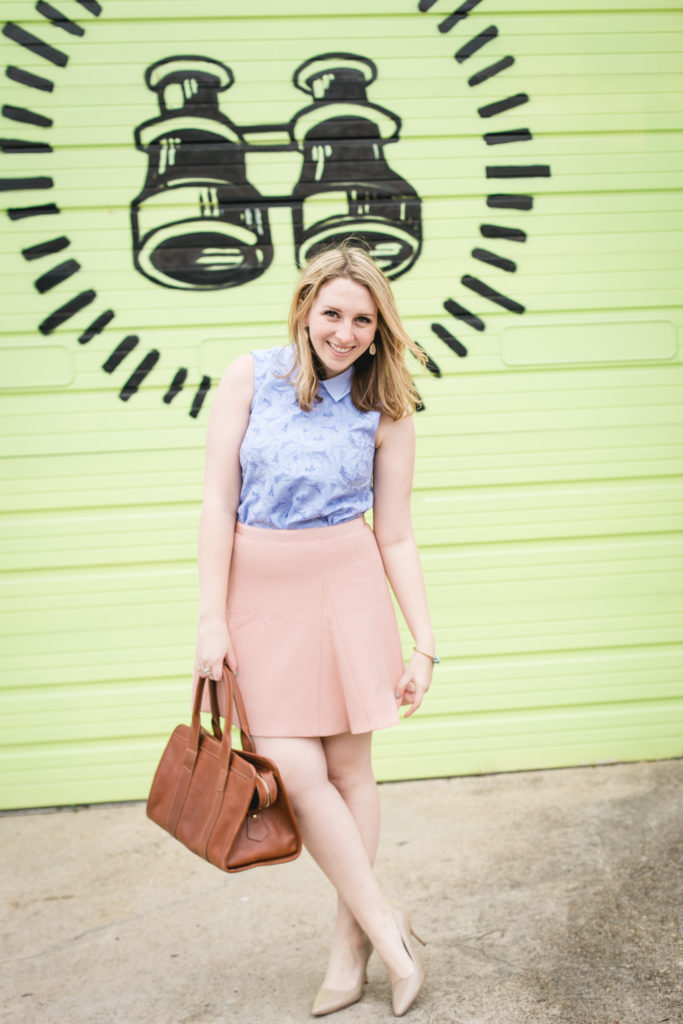 Periwinkle Lace Top 1