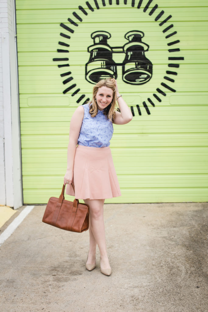 Periwinkle Lace Top 5