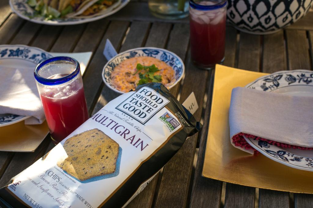 Food Should Taste Good, Cinco de Mayo, Crock Pot Queso, Dallas Food Blogger, multigrain tortilla chips
