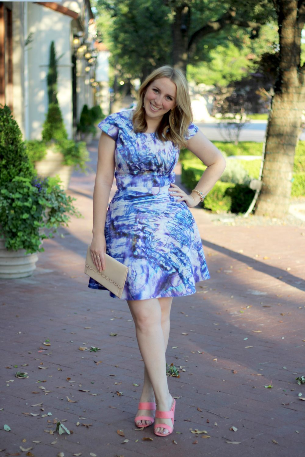 Blue Dress to Wear to a Summer Wedding