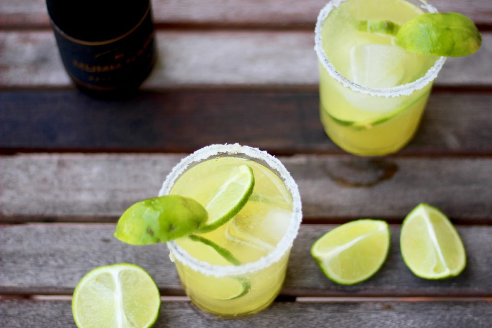 Sparkling Margarita Recipe, Champagne Margarita, Orange Margarita Cocktail Drink