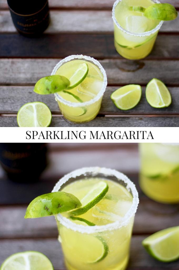 Sparkling Margarita Recipe Image