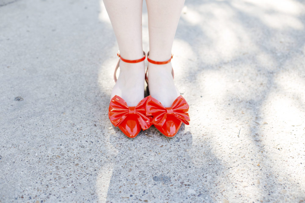 The Perfect Graduation Gift + A Giveaway ASOS lava pointed ballet flats