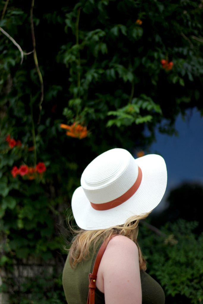 BP. Straw Boater Hat