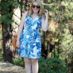 Silk Shirtdress + My Trip to Yosemite