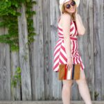 Red and White Dress for the 4th of July