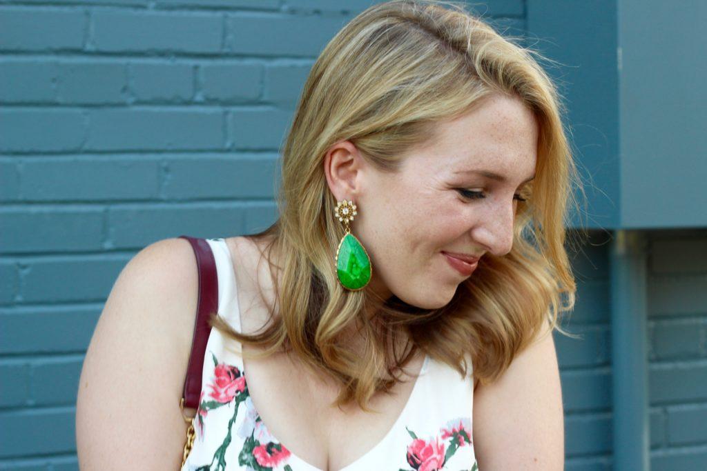 Amrita Singh Green Earrings