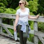 Workout-to-Play Olive Pants
