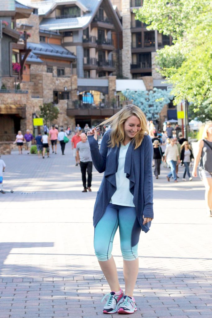 Cozy Workout Wear in Vail