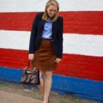 Suede Skirt + Suede Pumps (AND my favorite Instagram accounts!)