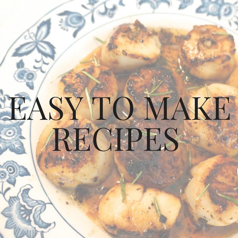Easy-To-Make Recipes