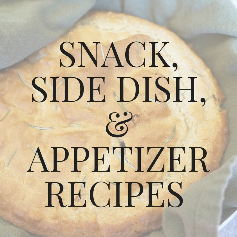 Snack & Side Dish Recipes
