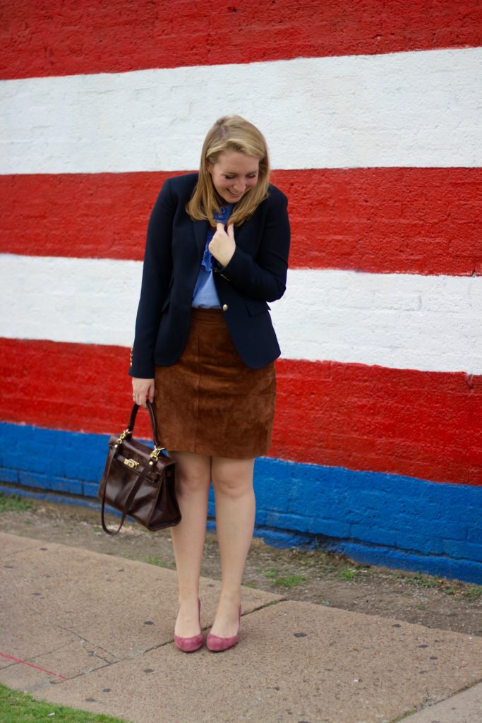 suede skirt suede pumps and my favorite instagram accounts to follow