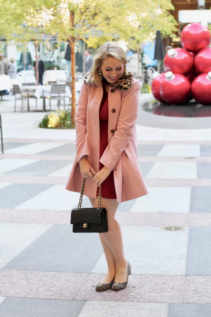 pink-swing-coat-with-leopard-trim