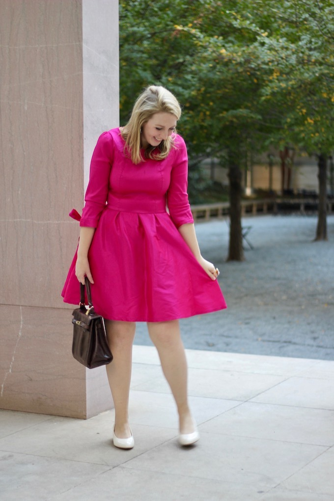 Pink Holiday Dress