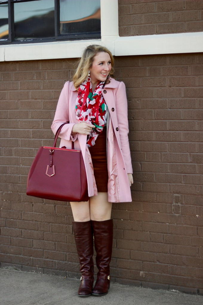 Ann Taylor Embellished Shell, Pink Coat