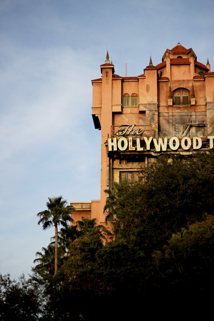 Tower of Terror Hollywood Studios Walt Disney World