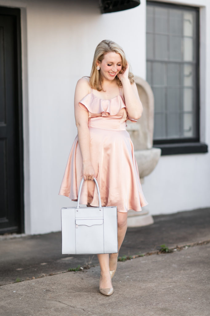 Pale Pink Dress Under $100 from Revolve
