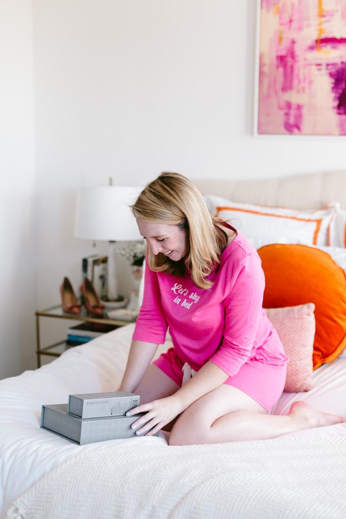 Pink Pajama Set under $100