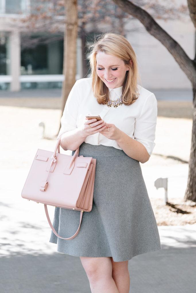 Pink Saint Laurent Handbag