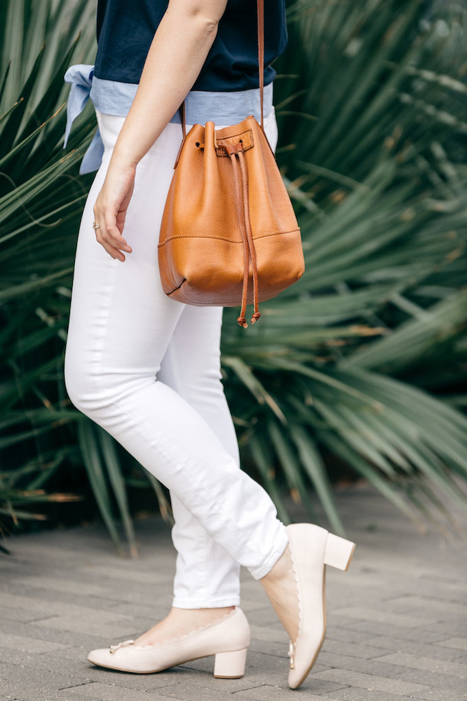 J.Crew Lookout high-rise jean in white
