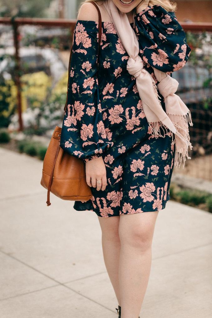 OTS above-the-knee dress